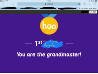kahoot: Search ?  15:08  a kahoot.it  & Play Kahoot! - Enter game.  24,080  Ctor  1st  Royale  You are the grandmaster!