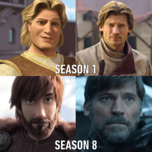 No more Lannister gold for hair dying: SEASON 1  SEASON 8 No more Lannister gold for hair dying