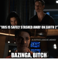 Bitch, Memes, and Justice League: SEASON FINALE  OJUSTICEL LEAGUE MEMES  SEASON FINALE  IRL  BAZINGA, BITCH RIP everything anyone in the CWverse had ever loved ever -Nightwing