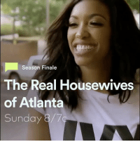 Beautiful, Memes, and Real Housewives of Atlanta: Season Finale  The Real Housewives  of Atlanta  Sunday Tonight @ 8-7c, catch the season finale of RHOA to see @shereewhitfield's beautiful Chateau & an appearance by @kimzolciakbiermann! 🍑🎥