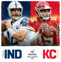 Indianapolis Colts, Memes, and Chiefs: SEASONS  IND  DIVISIONAL  TODAY, 435PMET  NBC Kicking off the Divisional Round with @Colts vs. @Chiefs! #ColtsForged #LetsRoll  📺: #INDvsKC | 4:35pm ET on NBC https://t.co/dyCLXd6tJp