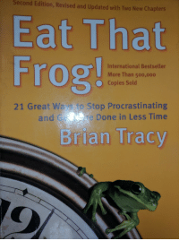 "Tumblr, Blog, and Book: Second  Edition, Revised and Updated with Two New Chapters  Eat That  Frog  International Bestseller  More Than 500,000  O Copies Sold  to Stop Procrastinating  e Done in Less Time  21 Great Wa  and  Brian Tracy <p><a href=""http://oceanember.tumblr.com/post/163833559825/i-think-ive-found-tom-hollands-favorite-book"" class=""tumblr_blog"">oceanember</a>:</p><blockquote><p>I think I've found Tom Holland's favorite book</p></blockquote>"