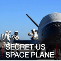 Memes, Space, and Military: SECRET US  SPACE PLANE 9 MAY: A US spacecraft has returned from a secret mission. But what was the US Air Force's X-37B doing during its almost two years in orbit? For another secret space mission: bbc.in-secret Space USAF X37B OTV4 Pentagon AirForce KennedySpaceCenter Tech Military Spacecraft BBCShorts BBCNews @BBCNews