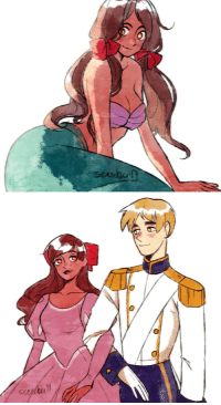 secubu:  HETALIA x The Little Mermaid CROSSOVER for @hetalia-incEngland as Prince EricSeychelles as ArielSketches by me: secubu:  HETALIA x The Little Mermaid CROSSOVER for @hetalia-incEngland as Prince EricSeychelles as ArielSketches by me