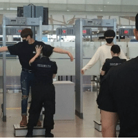 Teacher, Tumblr, and Blog: SECUR!  SECURITY btsboyzzzz:  TEACHER: WHAT DO YOU WANT TO BE WHEN YOU GROW UPME: AN AIRPORT SECURITY GUARD