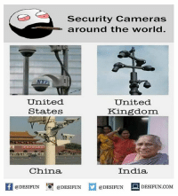 Twitter: BLB247 Snapchat : BELIKEBRO.COM belikebro sarcasm meme Follow @be.like.bro: Security Cameras  around the world  NYPL:  United  States  United  Kingdom  China  India  K @DESIFUN !可@DESIFUN @DESIFUN DESIFUN.COM Twitter: BLB247 Snapchat : BELIKEBRO.COM belikebro sarcasm meme Follow @be.like.bro