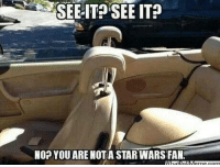 Memes, 🤖, and Starwars: SEE IT SEE IT?  NO? YOU ARE NOT A STARWARS FAN!