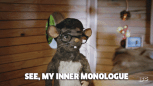 Monologue,  See, and  Inner Monologue: SEE, MY INNER MONOLOGUE