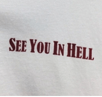 Hell, You, and  See: SEE YOU IN HELL