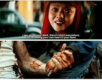 Time for feels... MarvelousFEELS: see you onyour back, there's blood everywhere.  Youre holding your own heart in your hand. Time for feels... MarvelousFEELS