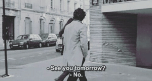 Tomorrow, You, and  No: See you tomorroW  No.