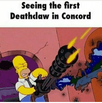 Memes, 🤖, and Concorde: Seeing the first  Deathclaw in Concord Accurate.