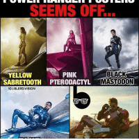 From @blerd.vision - Ready! ItsMorphinTime! Mastodon! Pterodactyl!Triceratops! Sabertooth Tiger! RANDY'S DONUTS! ...wait, what? 😂 PowerRangersMovie TogetherWeAreMore tbt: SEEMS OFF.  PINK  BLACK  YELLOW  SABRETOOTH PTERODACTYL MASTODON  IGIBLERD.VISION From @blerd.vision - Ready! ItsMorphinTime! Mastodon! Pterodactyl!Triceratops! Sabertooth Tiger! RANDY'S DONUTS! ...wait, what? 😂 PowerRangersMovie TogetherWeAreMore tbt