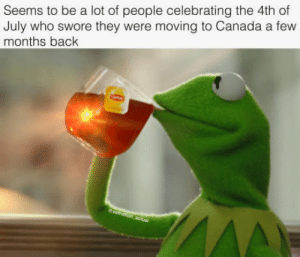 Some More, 4th of July, and Canada: Seems to be a lot of people celebrating the 4th of  July who swore they were moving to Canada a few  months back Some more stolen goods that deserve to be told