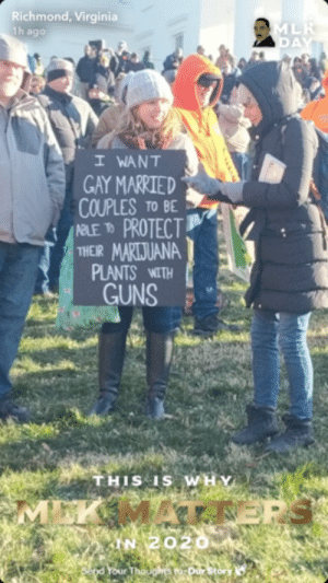 Seen at the VA Gun Rally Today: Seen at the VA Gun Rally Today