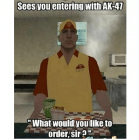 Happy Thursday everybody, enjoy the memes ✌🏼☀️ - Double tap for luck 👌🏼 Backup- @memerzone - Tags (Ignore) 🚫 GamingPosts Laugh CallOfDuty Lol Meme Memes Cod Selfie Funny Gamer FunnyAF Savage Salt Meme PhotoOfTheDay Crazy Insane Minecraft KylieJenner Kardashian NoChill YouTube Relatable Like4Like Overwatch: Sees you entering with AK-47  What would youlike to  order, sir Happy Thursday everybody, enjoy the memes ✌🏼☀️ - Double tap for luck 👌🏼 Backup- @memerzone - Tags (Ignore) 🚫 GamingPosts Laugh CallOfDuty Lol Meme Memes Cod Selfie Funny Gamer FunnyAF Savage Salt Meme PhotoOfTheDay Crazy Insane Minecraft KylieJenner Kardashian NoChill YouTube Relatable Like4Like Overwatch