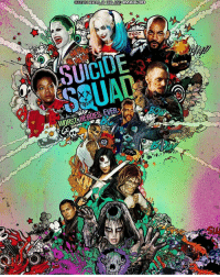 NEW SUICIDE SQUAD POSTER😍: SEETINEREALEDED AND IMAOK 3D  EVERA  WORST HEROES: NEW SUICIDE SQUAD POSTER😍