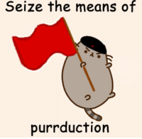 Commie-meme.jpg: Seize the means of  purr duction Commie-meme.jpg