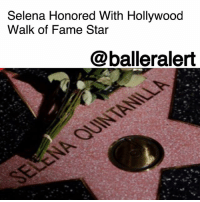 "cnn.com, Family, and Friday: Selena Honored With Hollywood  Walk of Fame Star  @balleralert Selena Honored With Hollywood Walk of Fame Star– blogged by @MsJennyb ⠀⠀⠀⠀⠀⠀⠀ ⠀⠀⠀⠀⠀⠀⠀ On Friday, the ""Queen of Tejano music"" joined the likes of Anita Baker, Michael Jackson, Louis Armstrong and many more on the Hollywood Walk of Fame. Twenty-two years after Selena Quintanilla's untimely death, the city of Los Angeles honored the singer with her own day and the Hollywood star. ⠀⠀⠀⠀⠀⠀⠀ ⠀⠀⠀⠀⠀⠀⠀ Selena's sister, Suzette, assisted in the creation of the special star and revealed her excitement to be a part of the moment. ""They don't give this honor to everyone, I'm so beyond honored…to be able to participate in the making of it, priceless,"" Suzette said. ⠀⠀⠀⠀⠀⠀⠀ ⠀⠀⠀⠀⠀⠀⠀ During the ceremony, the singer's family and fans watched as the city unveiled the new star. The city's Mayor said, ""While she was taken from us way too early, we now have something permanent that generations after generations can see in the most famous neighborhood anywhere in the world."" ⠀⠀⠀⠀⠀⠀⠀ ⠀⠀⠀⠀⠀⠀⠀ The songstress is among 34 entertainers who received a star this year, CNN reports."