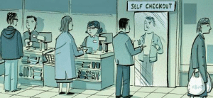 Self, Self Checkout, and Unexpected: SELF CHECKOUT Unexpected item