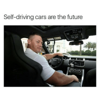 Hood,  Get Crazy, and  Self Driving Cars: Self-driving cars are the future Who's driving this car? The future is getting crazy 😤😤