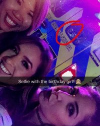 Girl Memes, Forgeted, and Birthday Girl: Selfie with the birthday girl! When the birthday gets aggressive, but you still don't forget to get pics.