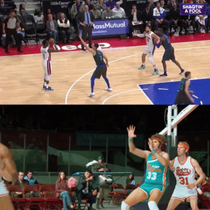 SEMI-PRO came out 12 years ago today.   Here's Reggie Jackson & Blake Griffin reenacting a scene from the movie.   https://t.co/Av9W7Nb6QK: SEMI-PRO came out 12 years ago today.   Here's Reggie Jackson & Blake Griffin reenacting a scene from the movie.   https://t.co/Av9W7Nb6QK