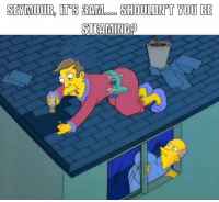 Mmm, steamed hams 🍔🍔  Credit- Andy Kyriacou: SEMMOURD ITS TAM.coe SHOULDNT YOU BE  STEAMING Mmm, steamed hams 🍔🍔  Credit- Andy Kyriacou
