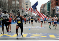 Memes, Lost, and Afghanistan: SEMPER FI  F U N D  28644  MILITARY EARTH  2099  14530  6470 Staff Sgt. Jose Luis Sanchez, a retired US Marine who lost his leg in Afghanistan, ran today's Boston Marathon while carrying our flag 🇺🇸🇺🇸 https://t.co/STd2lmNvTz
