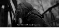 I Cant Live: SEMPETERNAL  I can't live with myself anymore.