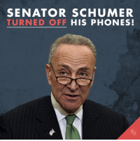 Senate Minority Leader Chuck Schumer shut down the phone lines in his main office early this afternoon after he received hundreds of calls about supporting David Friedman as the next U.S. Ambassador to Israel. THANK YOU, Secure America Now supporters for flooding his office with calls! Now, let's send Schumer and his Chief of Staff thousands of emails about Friedman -- check the comments for a link!: SENATOR SCHUMER  TURNED OFF  HIS PHONES Senate Minority Leader Chuck Schumer shut down the phone lines in his main office early this afternoon after he received hundreds of calls about supporting David Friedman as the next U.S. Ambassador to Israel. THANK YOU, Secure America Now supporters for flooding his office with calls! Now, let's send Schumer and his Chief of Staff thousands of emails about Friedman -- check the comments for a link!