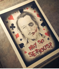 Why So Serious ?: SENHOUSE Why So Serious ?