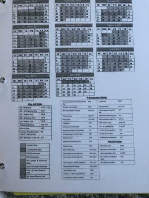 So when exactly do I have vacation days: September 2019  October 2019  August 2019  MO TU WE TH  FR SA  MO TU WE TH FR  SU  SU  FR SA  SA  TH  WE  SU MO TU  4  2  3  6  7  1  5  2  1  3  3  4  5  1  13  10  8  11  14  6  12  9  10  11  12  10  7  6  5  4  17  19  16  18  20  15  21  13  14  15  16 17  16  18  19  15  17  13  14  12  11  26  27  23  24  25  28  22  20  21  22  23  24  25  26  23 24  22  21  20  19  18  29  30  28  27  29  30  31  30 31  28  29  27  26  25  January 2020  December 2019  November 2019  TU WE TH  SU MO TU WE TH  FR  SA  FR  SA  МО  SU  FR SA  WE TH  TU  SU MO  1  2  4  5  7  3  4  6  2  1  2  5  7  6  9  12  10  11  13  14  11  10  8  9  7  8  6  5  4  3  20  21  18  19  13  17  12  15  18  14  16  17  15  16  16  14  15  13  12  10 11  25  19  20  21  23  22  24  27  28  25  26  23  24  22  23  22  21  20  19  18  17  29  30  26  27  28  31  29  30  31  30  29  28  27  26  24 25  April 2020  March 2020  February 2020  WE TH  SU MO TU  FR  SA  WE TH  SA  FR  SU MO TU  FR SA  TH  WE  SU MO TU  4  2  1  4  7  2  1  1  11  10  13  14  11  12  5  10  9  7  6  4  17  18  21  16  20  15  19  16  18  14  17  13  15  12  15  14  13  11  12  10  9  25  24  22  21  20  19  28  27  26  25  24  22  23  20  22  21  19  18  17  16  29  28  27  26  29  27  31  30  26  28  25  29  24  23  June 2020  May 2020  SA  FR  WE TH  Mо TU  SU  WE TH FR  SA  SU MO TU  6  4  3  2  1  2  13  12  11  10  8  7  7  6  5  4  3  20  19  18  17  16  14  15  16  14  13  15  12  10  11  26  25  24  23  22  21  23  22  21  20  19  18  17  30  29  28  27  30  28  26  29  27  24  25  P-8 Important Dates  31  12/20  P-8 Half Day  8/19  First Day of School- MS Full Day/LS Half  Fine Art Dates  Day  1/21-1/24  LMS Spirit Week  8/19  PSK Back to School Night  11/15-11/16  GR 4-8 Musical  1/14  P-8 Grandparents Day/Half  8/20-8/23  12/13  GR 1 Half Day/GR 2-8 Full Day  GR 1-3 Christmas Sing  Day  12/18  GR 4 Nativity Play  3/2  GR 4 Coloma Send off prayer  8/20-8/21  PSK Orientati