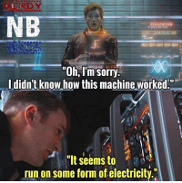 "Batman, Beautiful, and Life: SEQUENCING  ASON QUILL  ""Oh, I'm sorry  didn't know how this machine worked.""  ""It seems to  run on some form of electricity I can't believe we're going to see The Avengers and the Guardians in the same movie😍. Life is beautiful - - Nerdy Bro: Luke - - GeekFaction thenerdybros Trendy Robin wonderwoman flash cyborg superman JusticeLeague Batman thedarkknight nightwing like4like instagood DC marvel comics superhero Fandom marvel detectivecomics warnerbros superheroes theherocentral hero comics avengers starwars justiceleague harrypotter herocentral starwars follow4follow"