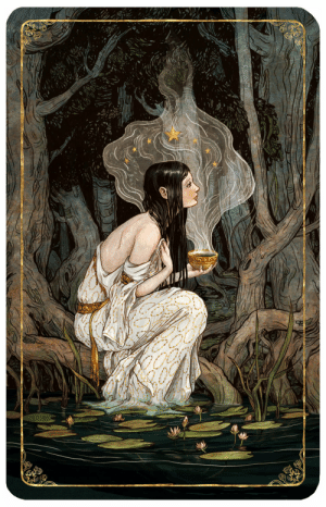 serapart:  Tarot, The Star by bluefooted : serapart:  Tarot, The Star by bluefooted