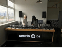 Playing with toys: serato DJ Playing with toys