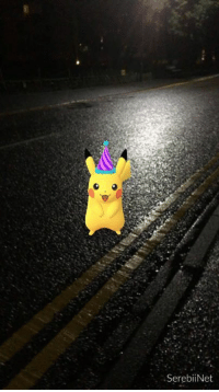 Dank, Pikachu, and Pokemon: .SerebiiNet The Pokémon Day Party Hat Pikachu event has begun in Pokémon GO. This event gives access to a special Pikachu until March 6th at 21:00 UTC. Will you be out looking for this Pikachu? http://www.serebii.net/index2.shtml