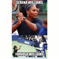 Memes, Serena Williams, and 🤖: SERENA WILLIAMS  Spec  FURIOSAWILLIAMS  y risos en MEMEDEPORTES.COM Chistaco del US Open árbitro tenis usopen memedeportes https:-www.memedeportes.com-tenis-chistaco-del-us-open