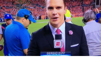 Memes, 🤖, and Case: SERGIO DIPP In case you missed ESPN's sideline reporter. https://t.co/yiIoBUHUCn