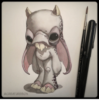 England, Memes, and Monster: Series 7 Finest Sable Winsor & Newton England Darla was at a loss for words after she heard what that old walrus had done. Original available in our shop (link in bio). Watercolor and ink on watercolor paper. demon monster illustration
