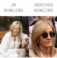 Why so serious: SERIOUS  ROWLING  UK  ROWLING  TheGladStork Why so serious