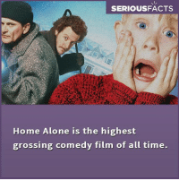 Home Alone, Memes, and Film: SERIOUSFACTS  Home Alone is the highest  grossing comedy film of all time.