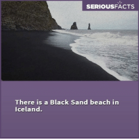 For home decor & interior design ideas follow our account @greatinteriordesign @greatinteriordesign: SERIOUSFACTS  There is a Black Sand beach in  Iceland. For home decor & interior design ideas follow our account @greatinteriordesign @greatinteriordesign
