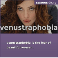 Phobia of beautiful women