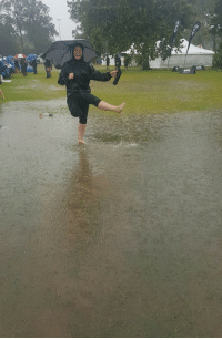 Seriously Auckland! I spent the weekend with you, supporting my daughter playing touch and it didn't stop raining! Hope you are trying out today! 😃: Seriously Auckland! I spent the weekend with you, supporting my daughter playing touch and it didn't stop raining! Hope you are trying out today! 😃