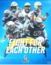 Memes, Nfl, and Chargers: SERS  EACH OTHER  PRO BOWL  ORLANDO 2018  Ca  NFL The most 2018 #ProBowl selections of any team?  The @Chargers! (7)  #FightForEachOther https://t.co/IshHgpyusw