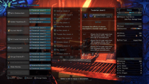 Is there such thing as to much WEX?: Set Decorations  -Smithy  Status  Tenderizer Jewel 2  Tenderizer Jewel 2  Defense Jewel+ 4  L2  R2  O Safi's Shattershield  Tenderizer Jewel 2  Ciara  Hard Defense Jewel 4  Weakness Exploit  Level 1  * Weapon Type Bonus  Recovery Jewel+ 4  Tenderizer Jewel 2  Less Phys. Damage Taken  Golden Headdress B+  Vitality Jewel 1  Skill Info  Fire Res Jewel+ 4  1  Attack Status  1 Attack  1098  Water Res Jewel+ 4  Increases the affinity of attacks  that exploit a monster weak spot.  1  Tenderizer Jewel 2  Sharpness  Ice Res Jewel+ 4  Esurient Mail B +  Tenderizer Jewel 2  K Affinity  Tenderizer Jewel 2  15%  Attacks that hit weak spots have  10% increased affinity, with  extra 5% on wounded parts.  Thunder Res Jewel+ 4  Lv 1  Element  150  Tenderizer Jewel 2  Dragon Res Jewel+ 4  Safi Crested Vambraces B +  8 Tenderizer Jewel 2  Phial Type  Attacks that hit weak spots have  15% increased affinity, with an  extra 15% on wounded parts.  Impact Phial  Lv 2  Antidote Jewel+ 4  Tenderizer Jewel 2  Tenderizer Jewel 2  Antipara Jewel+ 4  Attacks that hit weak spots have  30% increased affinity, with an  extra 20% on wounded parts.  Lv 3  we Empress Coil B +  Tenderizer Jewel 2  Pep Jewel+ 4  Antiblast Jewel+ 4  Tenderizer Jewel 2  Tenderizer Jewel 2  a Garuga Greaves B +  1/26  Defense Status  Tenderizer Jewel 2  + Defense  909  Exploiter Charm II  6 Vs. Fire  A Vs. Water  11  Tenderizer/Maintenance Jewel 4  Glider Mantle+  S Vs. Thunder  % Vs. Ice  Tenderizer Jewel 2  4  -8  Affinity Booster+  + Vs. Dragon  -6  Skill Info  O Back  Change Display  Confirm  Remove  Select a slot to equip a decoration. Is there such thing as to much WEX?