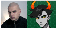 Tumblr, Blog, and Help: setheverman:  deputy-dorky-pants:  Lanque is making the Seth Everman Face  please i don't know who this is? is it some sort of homestuck person? is this a homestuck??? help me