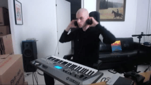 Coldplay, Target, and Tumblr: setheverman:   when you try all the sounds and beats on your synth while only playing coldplay - viva la vida