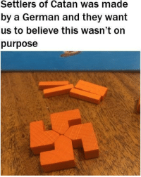 "Dank, Meme, and Http: Settlers of Catan was made  by a German and they want  us to believe this wasn't on  purpose <p>The reich lives on my dudes via /r/dank_meme <a href=""http://ift.tt/2kQ83ki"">http://ift.tt/2kQ83ki</a></p>"